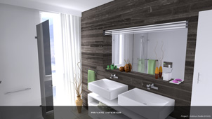 Private Interior - Bathroom