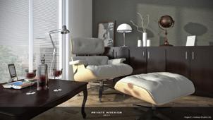 3D Interior scene