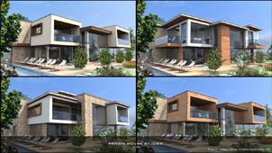 3D facade studies