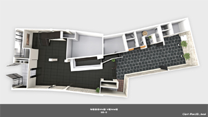 3D Top View