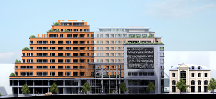 3D fachada