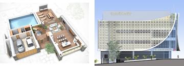 3D planos y 3D fachadas